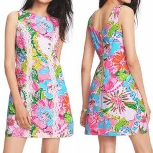 NWT LILLY PULITZER for Target FLORAL DRESS Size 14